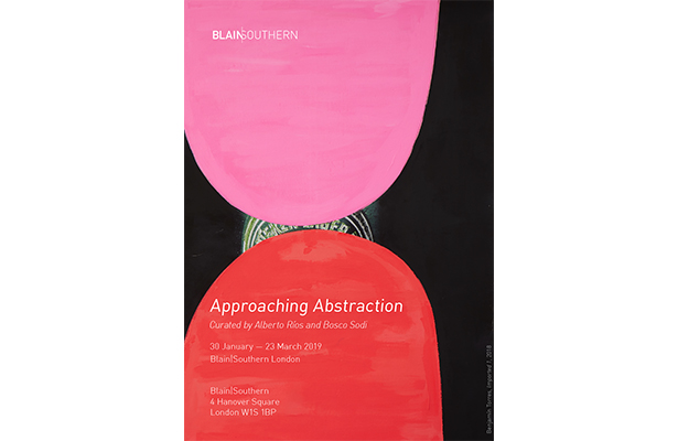Approaching Abstaction, Blain Southern Gallery London, UK