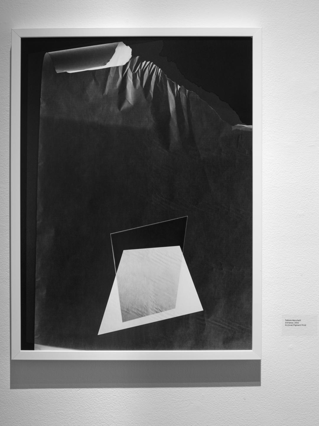 """Fabiola Menchelli, Entrance, 2012, Archival pigment print on fibre paper, 22.5 x 30"""""""